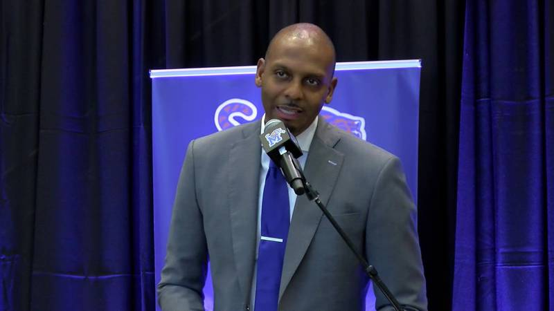 Penny Hardaway talking about his plans for Memphis basketball. (Source: WMC Action News 5)