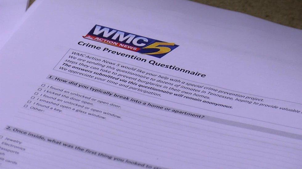 Several weeks ago, WMC5 Investigator Sasha Jones sent questionnaires to 100 Tennessee inmates...