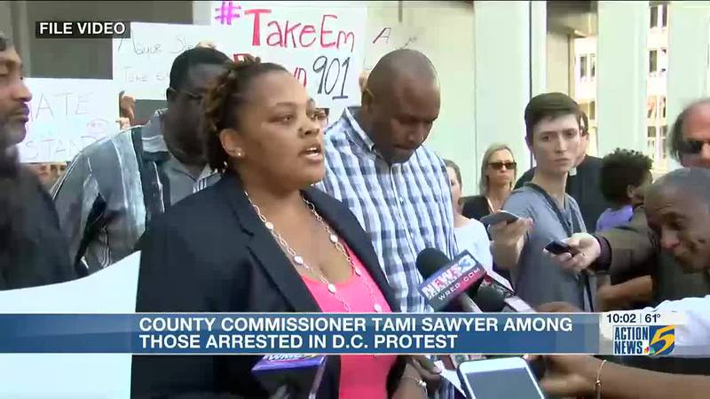 Shelby County commissioner talks protest for voting rights bill and arrest at White House