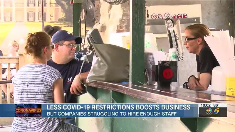 Less COVID-19 restrictions boosts business