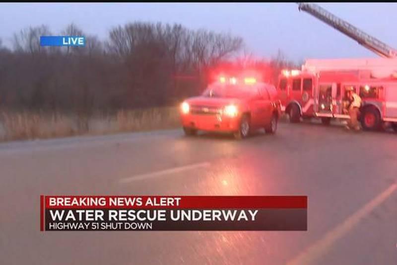 Brix: water rescue underway