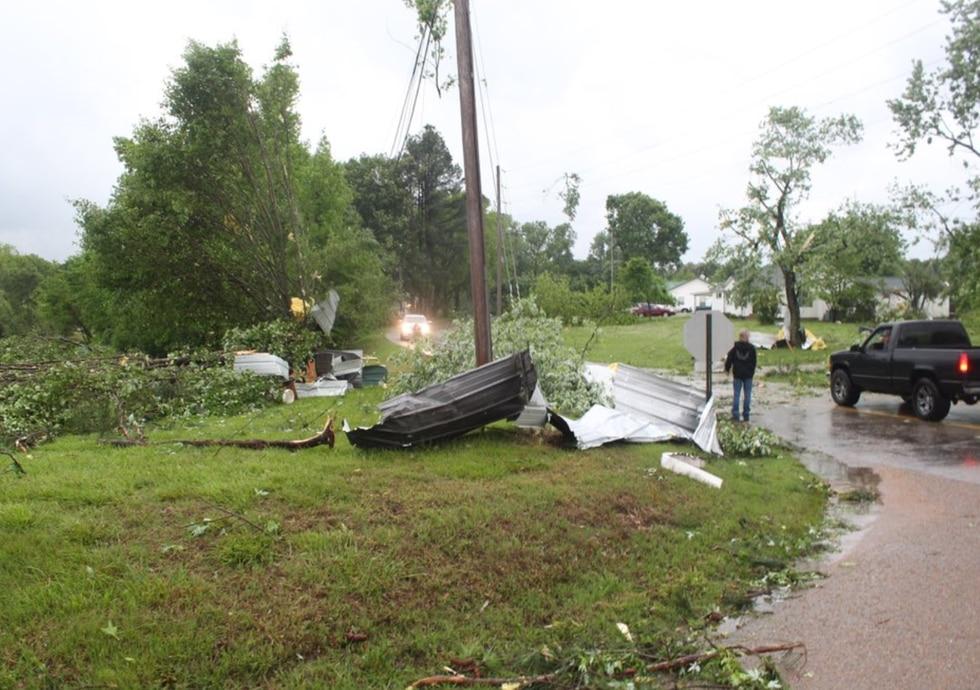 Munford Tornado Damage