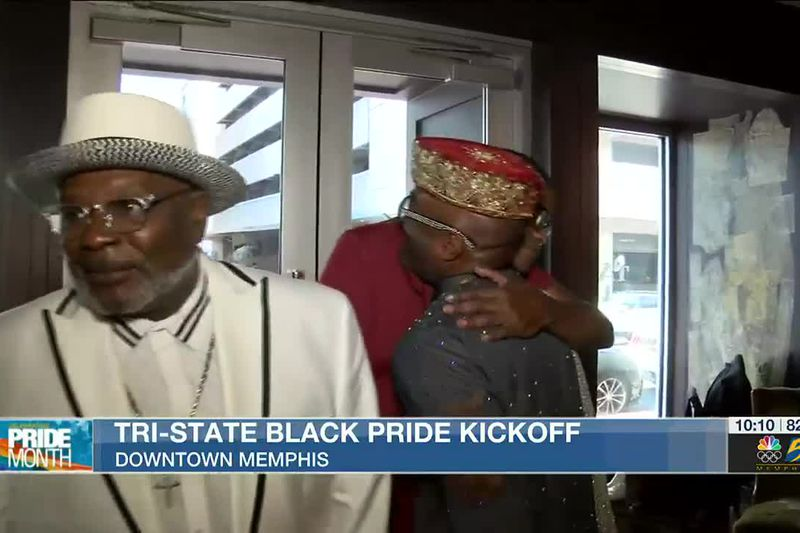 Tri-State Black Pride weekend kicks off with opening ceremony in downtown Memphis