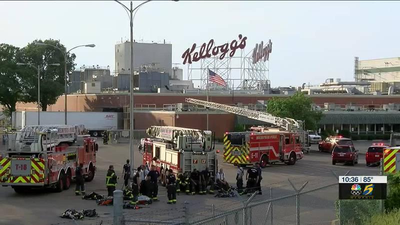 Fire at Kellogs