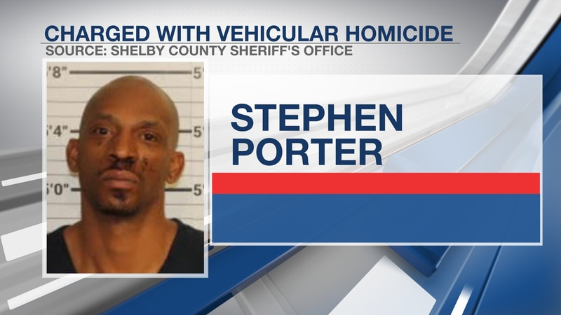 Booking photo of Stephen Porter.