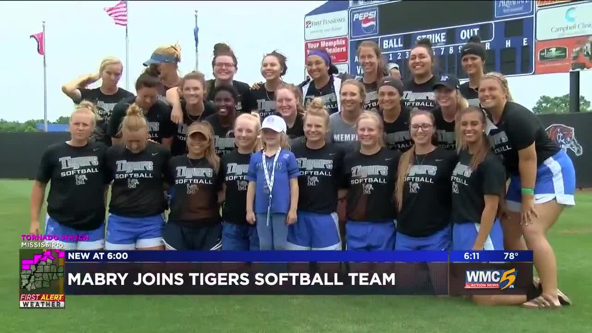 GF Default - Former St. Jude patient gets drafted to the Tiger Softball team