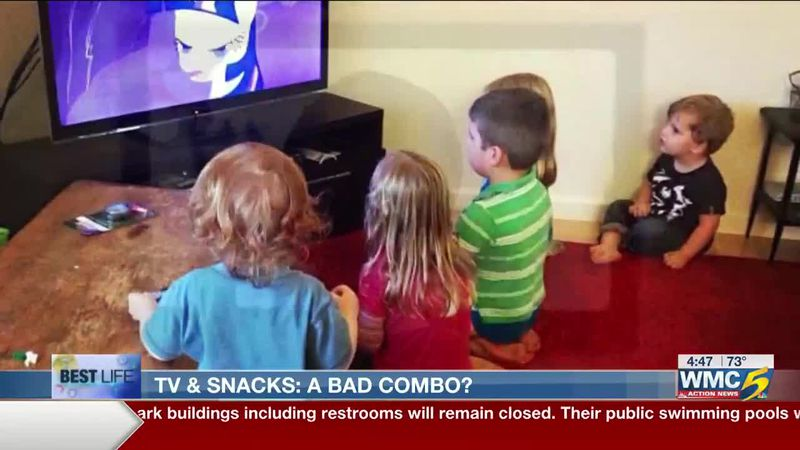 Best Life: Preschoolers and snacking in front of the TV