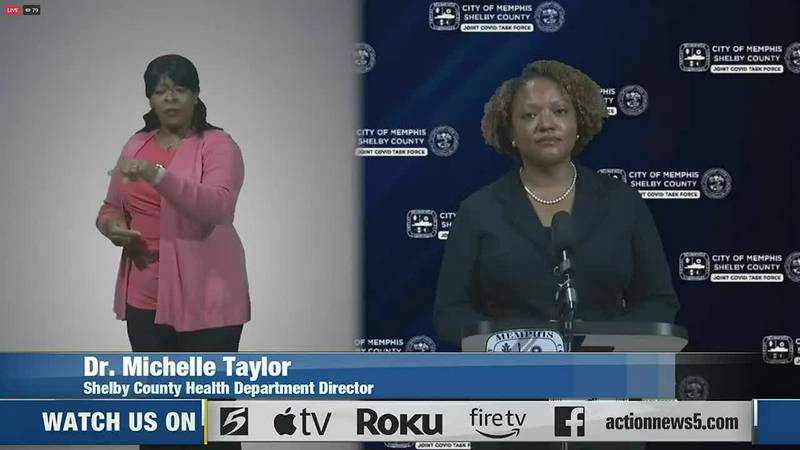 Watch Live: Memphis-Shelby County COVID Task Force gives update on COVID-19 cases, vaccine