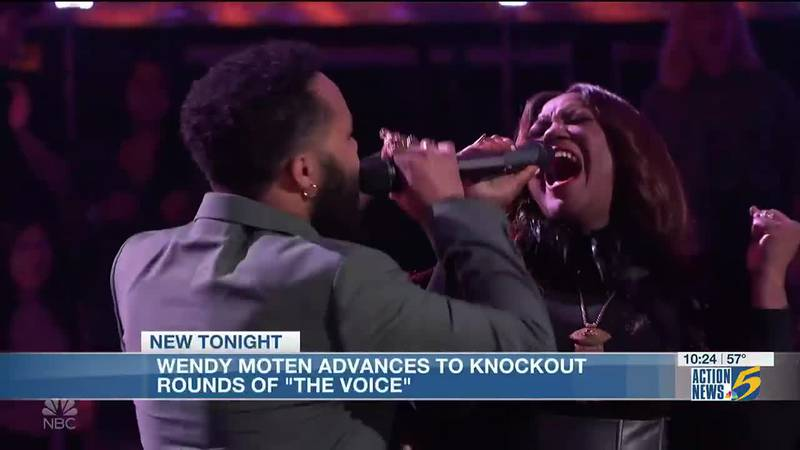 Memphis native Wendy Moten advances to knockout rounds of 'The Voice'
