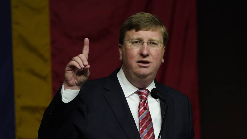 Mississippi Gov. Tate Reeves comments on private businesses finally getting past some of the...