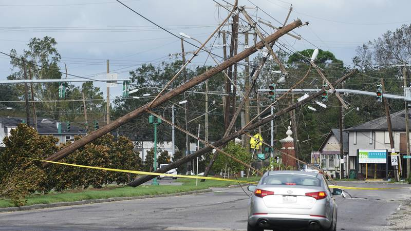 One of the most powerful hurricanes ever to hit the U.S. mainland has now weakened into a...