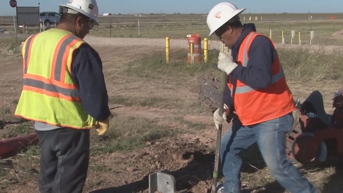 Construction work with Pantex partner Tri-State General Contracting (Source: KFDA)