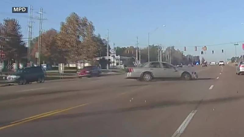 MPD dash cam shows high-speed chase of shooting suspect
