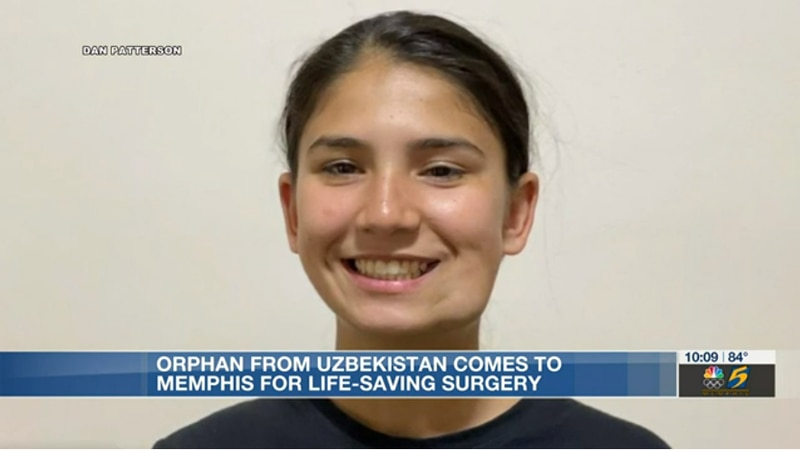 Uzbekistan patient at st. jude