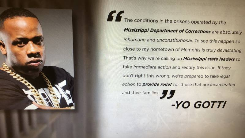 Rapper Yo Gotti of Memphis pens letter to Mississippi Governor and MDOC Commissioner about...