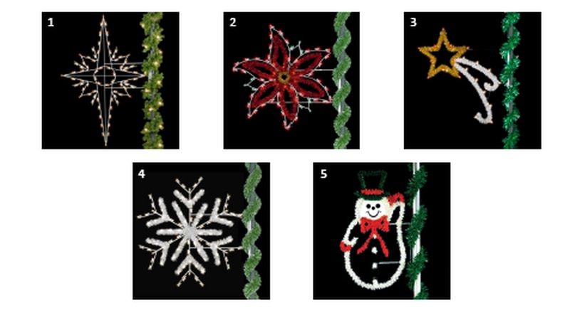 New street light Christmas ornaments coming to Whitehaven