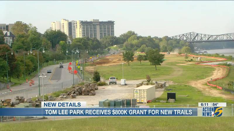 Tom Lee Park receives $800 grant for new trails