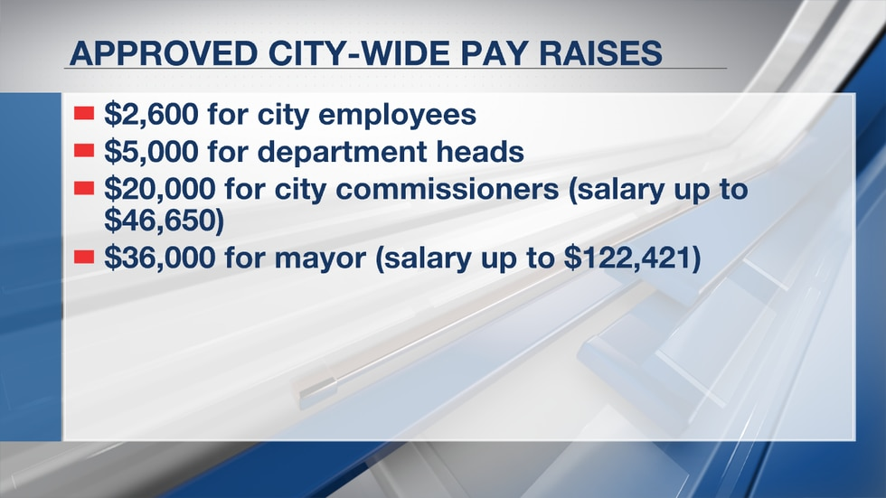 Clarksdale, MS Approved Pay Raises