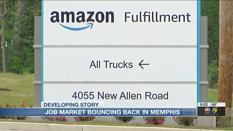 Job market bouncing back in Memphis