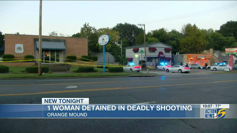 Woman detained in Memphis shooting that left man dead