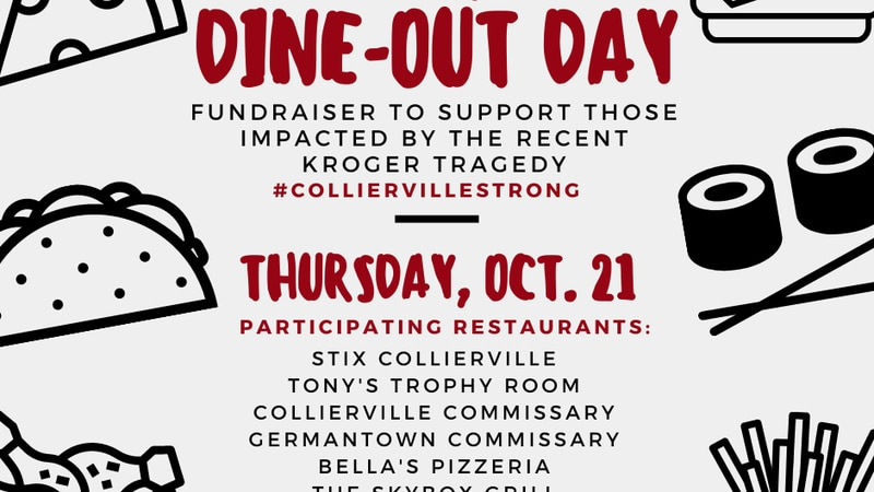 Several restaurants come together for fundraiser to support victims of Collierville mass shooting