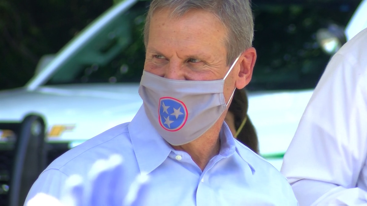 Gov. Bill Lee stops in Memphis for free COVID-19 testing event