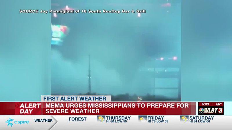MEMA braces for severe weather, urges families to prepare