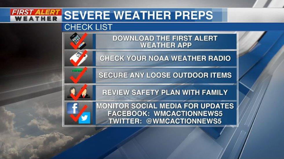 First Alert Weather Day preps