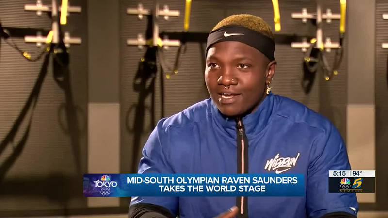 Raven Saunders and shot put coach bring intense, yet positive approach to Olympic training