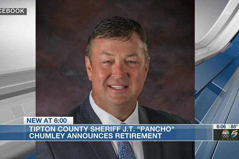 Tipton County sheriff announces retirement after more than 30 years in law enforcement