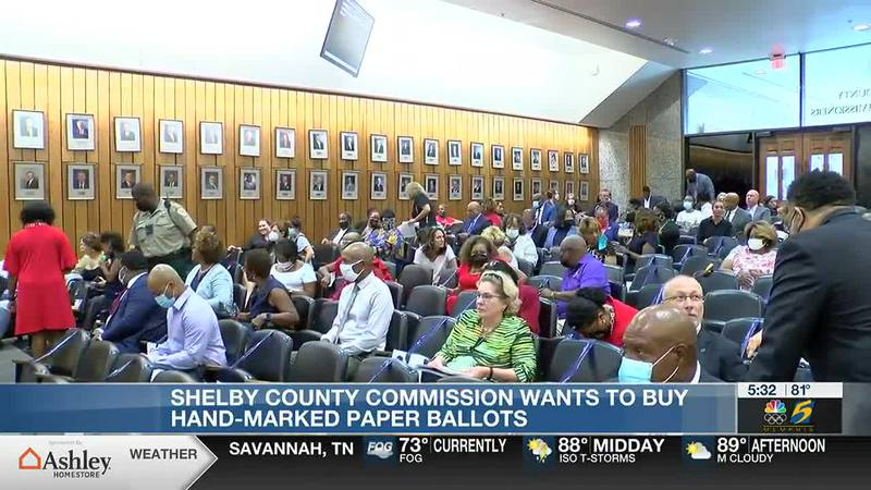 Shelby County Commission meeting