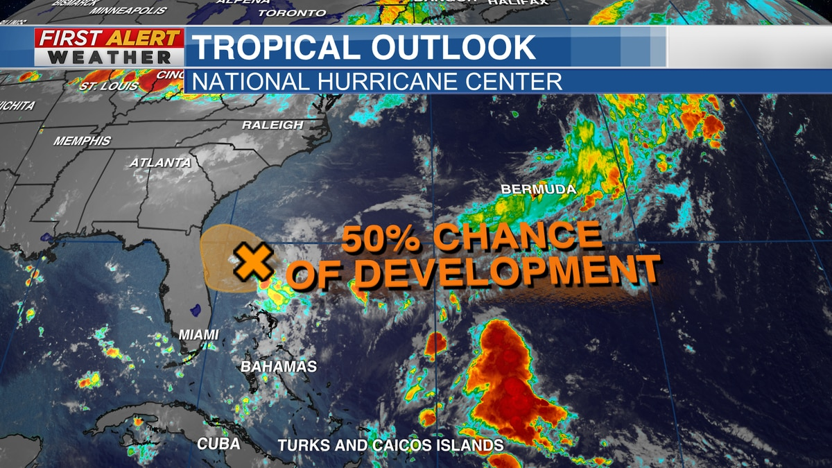 Tropical Outlook from the National Hurricane Center as of 3:45 AM CT Sunday, July 25