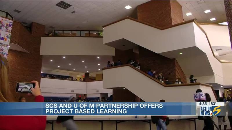 Shelby County Schools and University of Memphis partnership offers project-based learning
