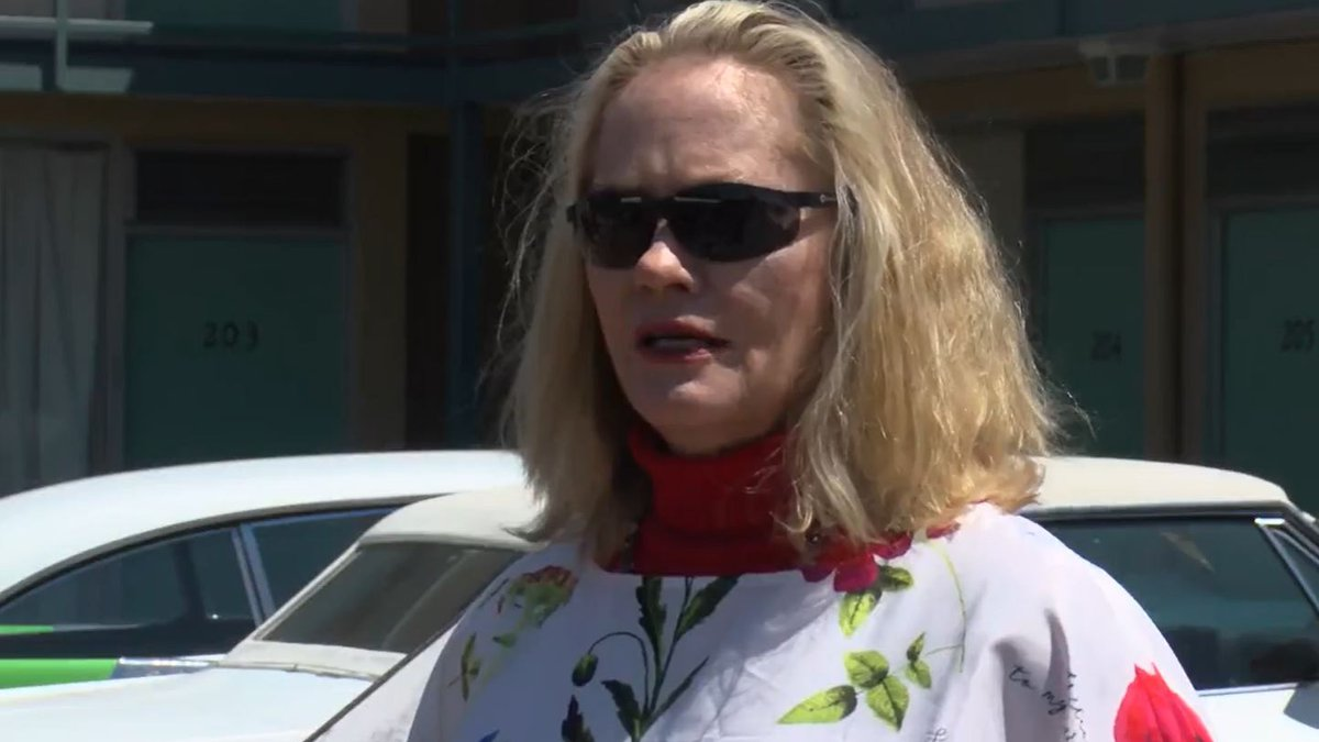 Memphis native and actress Cybill Shepherd attends a protest against the Byhalia Pipeline in...