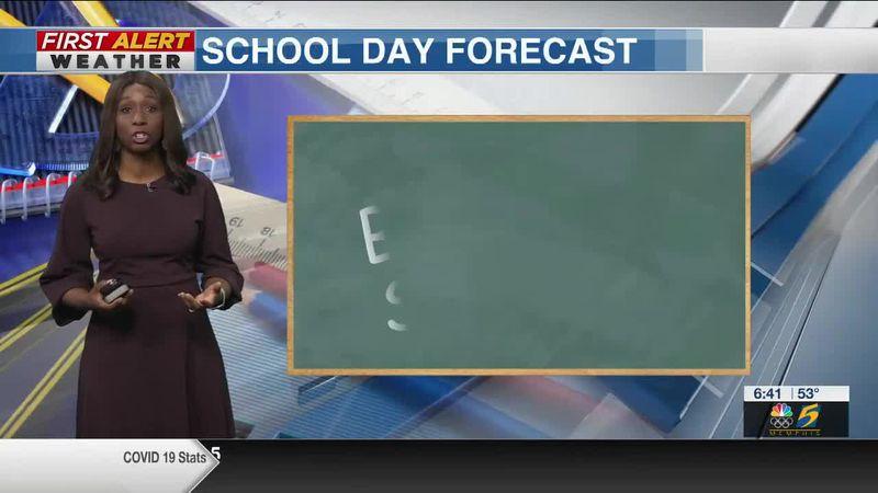 School Day Forecast 4/16/2021 -- WMC