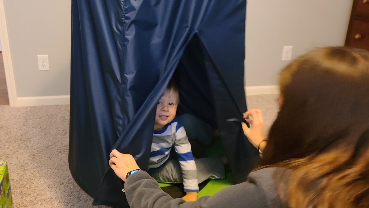 Mechanical engineering students build swing for 2-year-old with autism