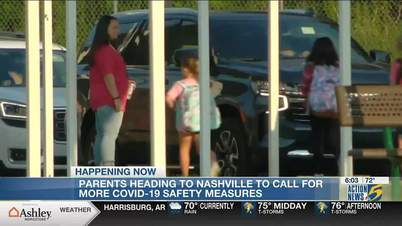 Parents protest in Nashville