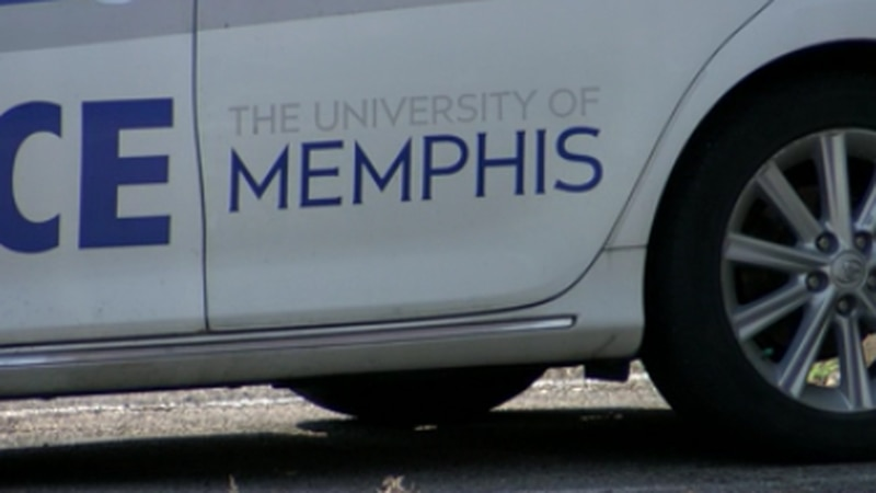 Two men charged after firing shots at University of Memphis police officer