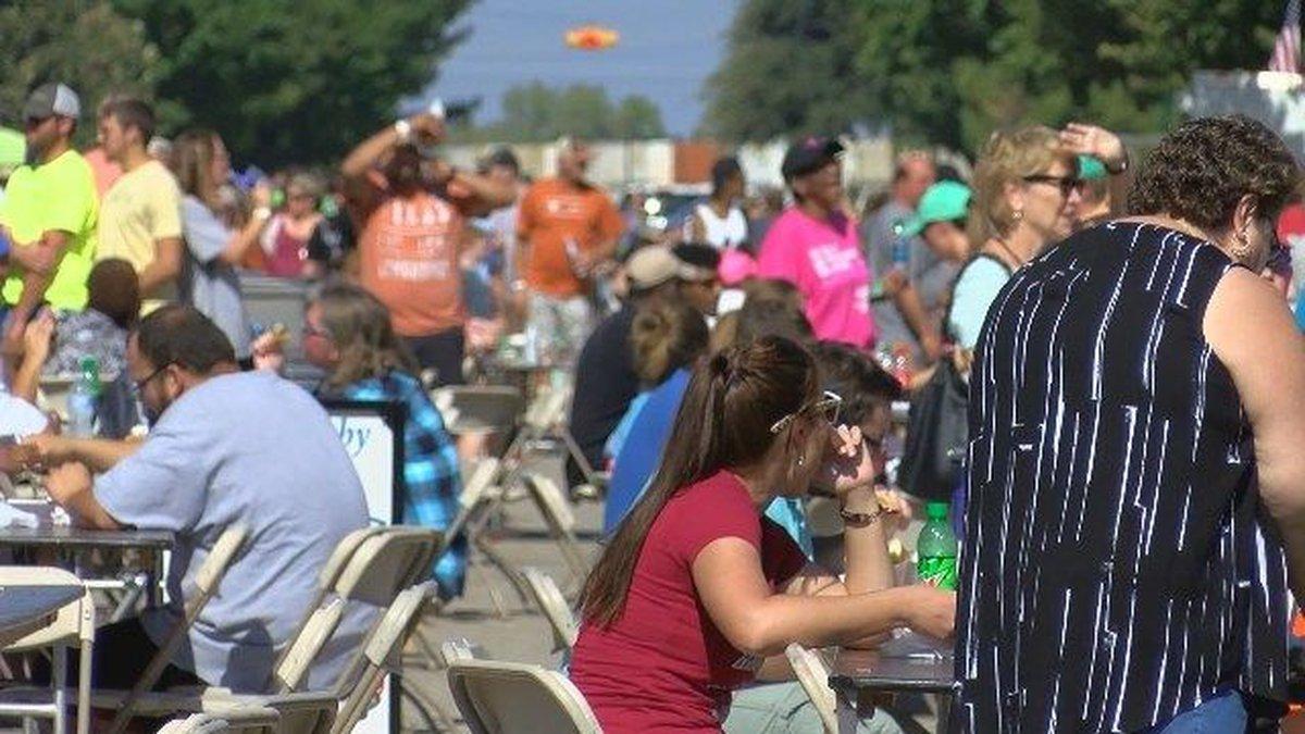 Foodies swarm WF for food truck festival