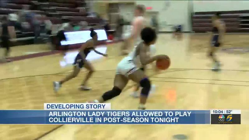 Arlington Lady Tigers allowed to play Collierville in post-season game