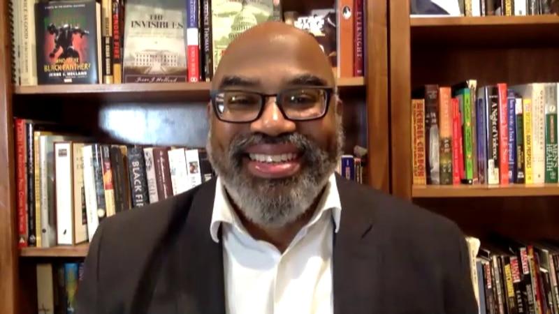 Author of 'Black Panther' novel remembers Chadwick Boseman