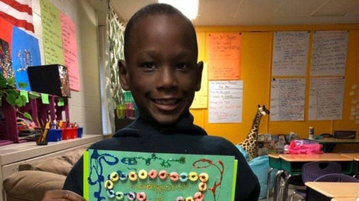 10-year-old Jadon Knox
