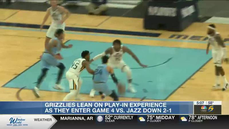 Grizzlies lean on play-in experience as they enter game 4 vs Jazz down 2-1