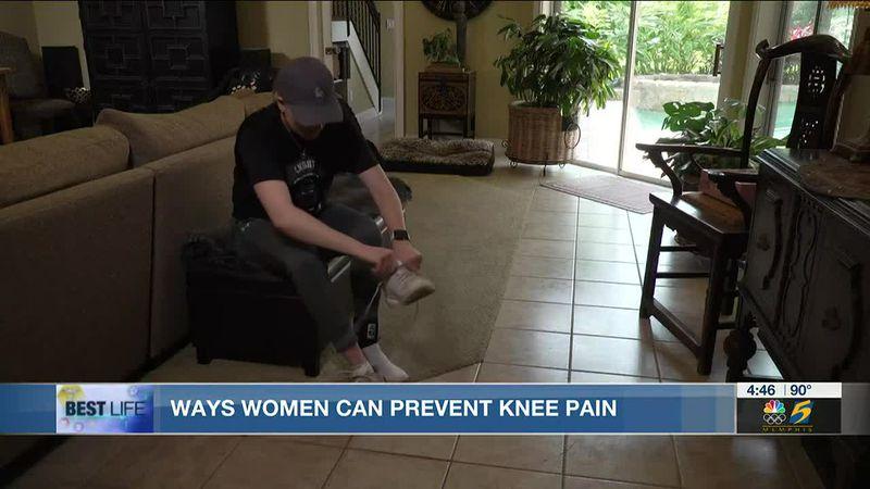 Best Life: Easing knee pain in women