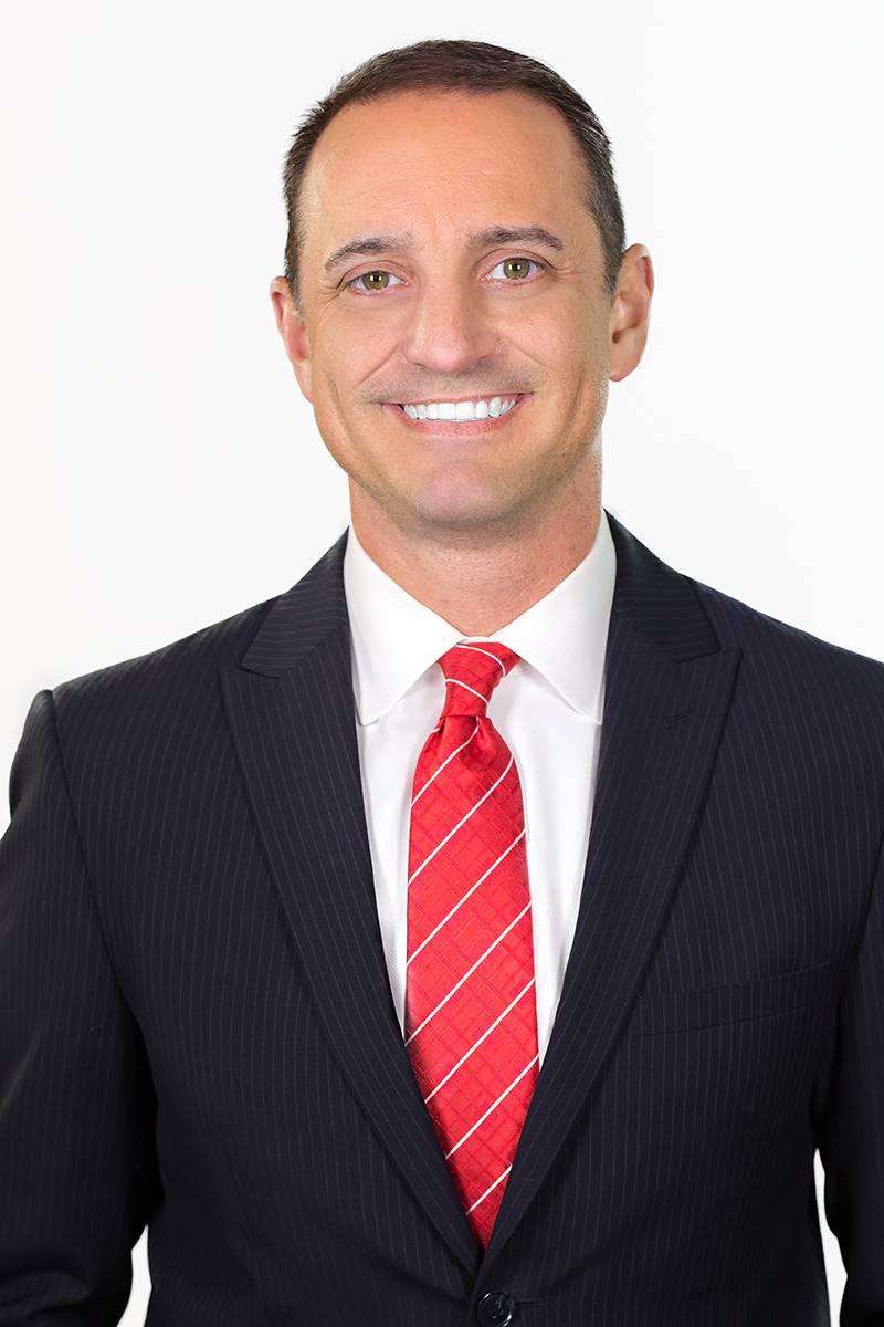 Headshot of Spencer Denton, Meteorologist