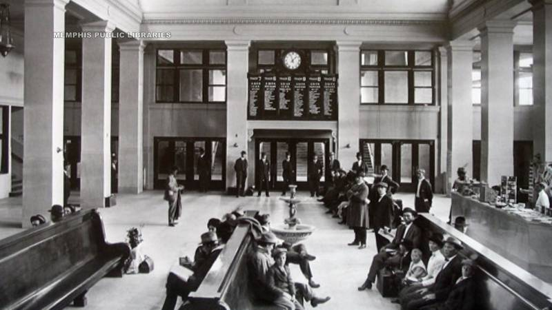 Memphis train station
