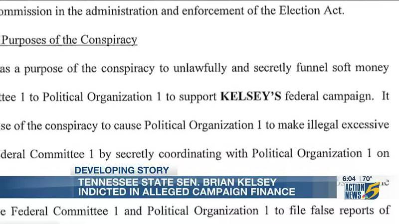 Tenn. Senator Brian Kelsey calls federal indictment against him a 'political witch hunt'
