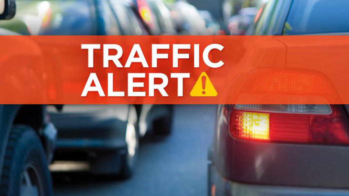 Traffic Alert: Lane closures after accident