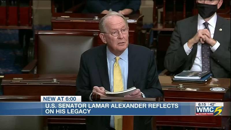 U.S. Senator Lamar Alexander exists politics