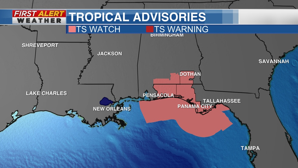 Tropical Advisories as of 6 AM CT Sunday, Aug 15